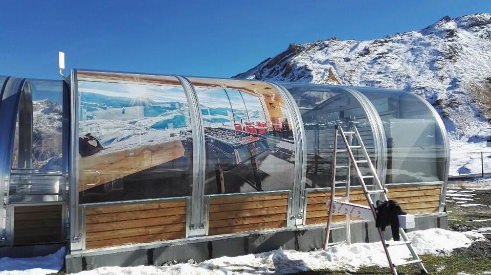L'atelier est de nouveau sur Val d'Isère - Atelier Gilles Bail
